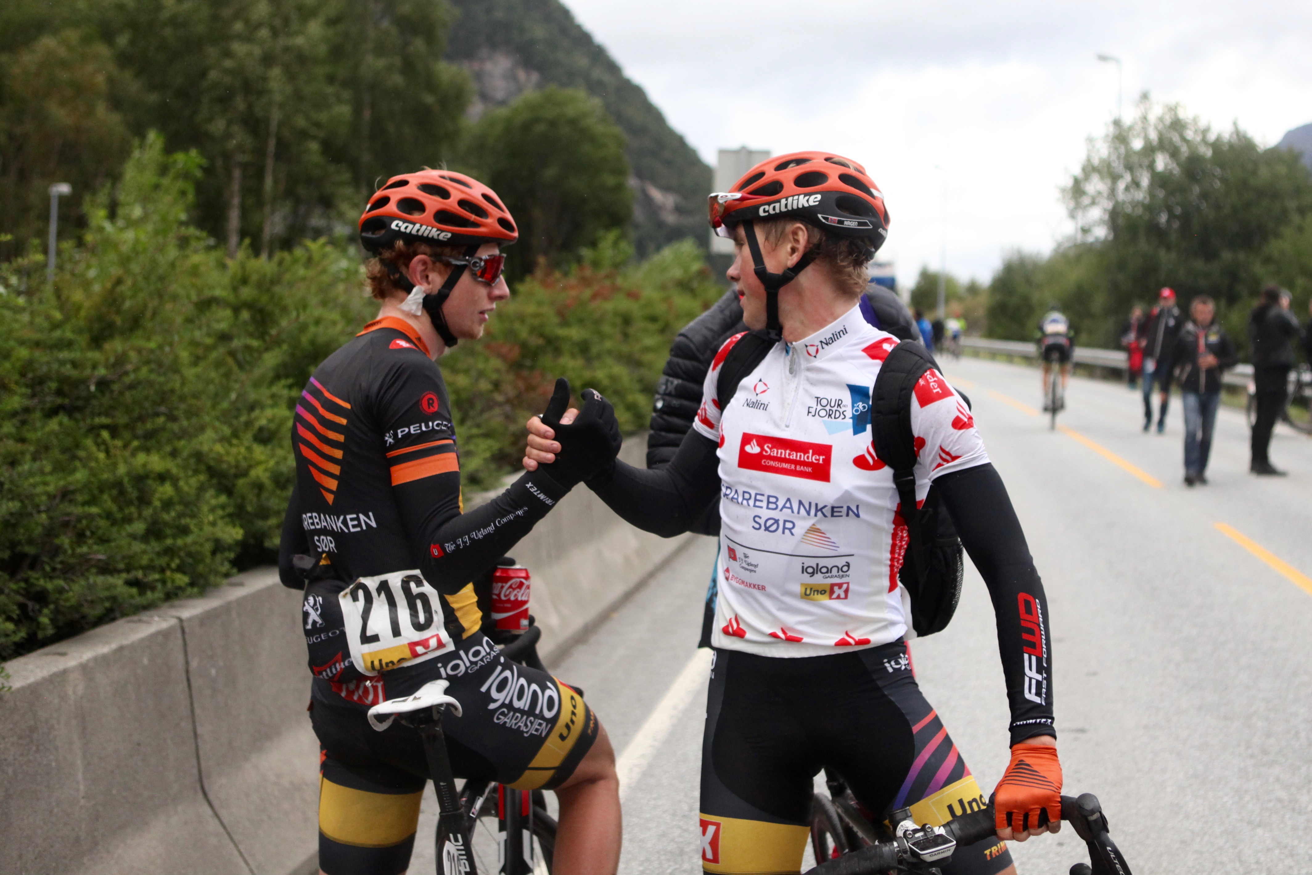 HVEM SKAL TA STEGET? Det var godt gjort av Carl Fredrik Hagen å ta klatretrøyen i Tour des Fjords, men hvor var etappeseieren? Og hvem skal erstatte ham i neste års mannskap? Foto: Kjetil R. Anda / procycling.no