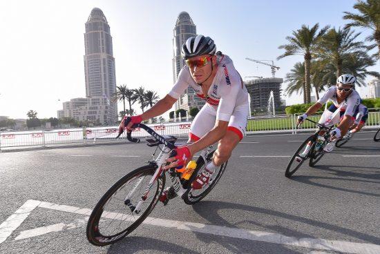 SJANSEN SOM RØK: Alexander Kristoff har ikke lagt skjul på at skylder på Edvald Boasson Hagen for mangel på toppresultat i Qatar. Foto: Tim de Waele (©TDWSport.com)