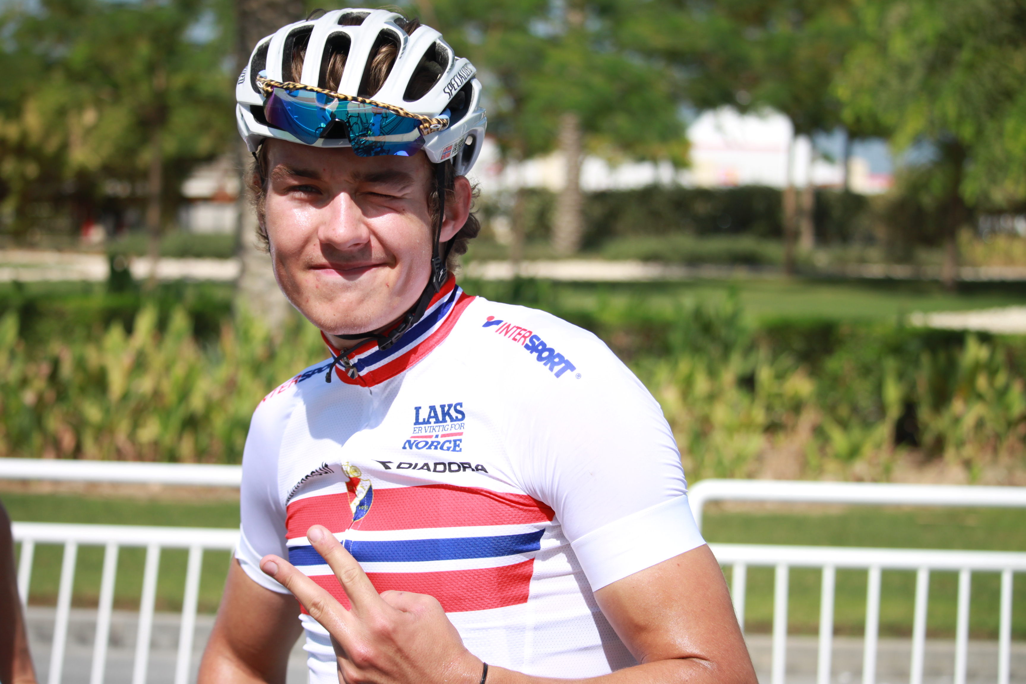 EN AV DEM SOM GLAPP: Sedrik Ullebø fortsetter ikke karrieren i Coop, men på Ringerike. Foto: Mælhum/Norges Cykleforbund