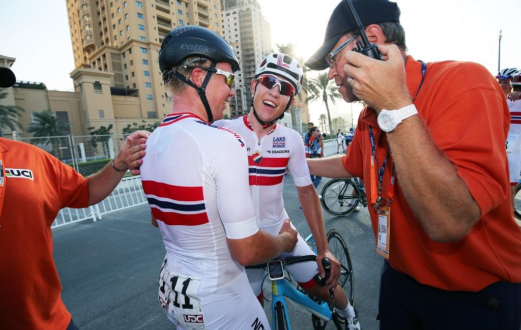 DØRÅPNER: Triumfen i Doha gjør Kristoffer Halvorsen ettertraktet i mange profflag. Foto: Tim de Waele (©TDWSport.com)