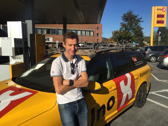 NY SPORTSSJEF: Kurt Asle Arvesen. FOTO: Uno-X Hydrogen Development Team.