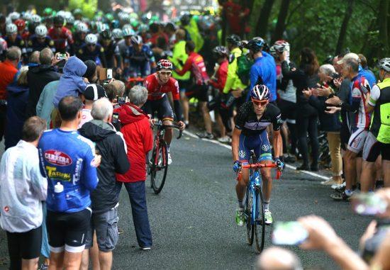 DANSER OPP BAKKENE: Meurisse har bra punch i de korte bakkene. Foto: Tim de Waele (©TDWSport.com)