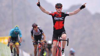 FØRST PÅ TOPPEN: Ben Hermans vant etappe to av Tour of Oman og overtok samtidig ledelsen i rittet. Alexander Kristoff klarte seg likevel overraskende bra i det kuperte terrenget. FOTO: Tim De Waele/TDWSPORT.COM