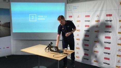 HAR PLANEN KLAR: Tour de Fjords endte på fem etapper i år