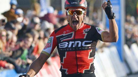 BEST: Greg Van Avermaet vant Paris-Rourbaix. / AFP PHOTO / Belga / ERCI LALMAND / Belgium OUT