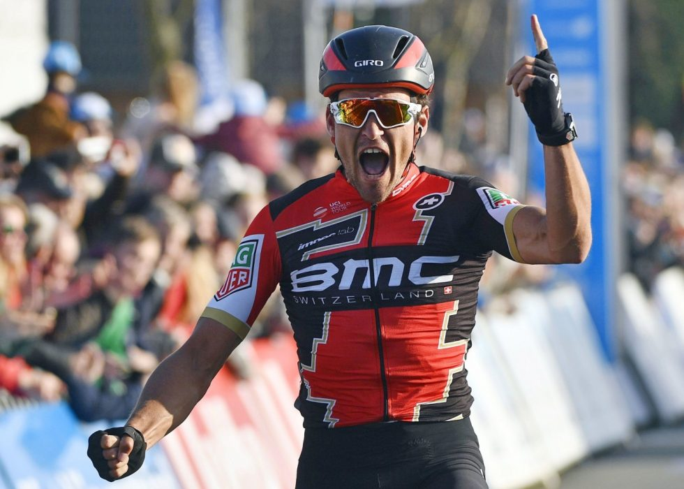 BEST: Greg Van Avermaet vant Paris-Rourbaix. / AFP PHOTO / Belga / ERCI LALMAND / Belgium OUT