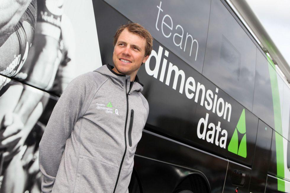 KAPTEIN: Edvald Boasson Hagen er den suverene kaptein for Dimension Data i søndagens Flandern rundt. FOTO: Kjetil R. Anda/procycling.no