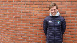 SMILET TILBAKE: Kristoffer Halvorsen innrømmer at han fikk seg en knekk etter flere velt og sykdom som ikke slapp taket i starten av sesongen. FOTO: Jarle Fredagsvik