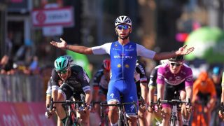 USLÅELIG: Fernando Gaviria har vært spurtkongen i den 100. utgaven av Giro d'Italia. Her fra seieren på femte etappe. Foto: Tim de Waele