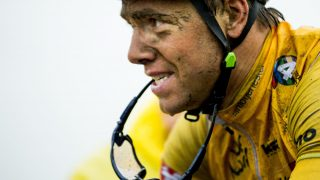 NESTEN: Edvald Boasson Hagen spurtet inn til andreplass på torsdagens etappe i Tour des Fjords. Foto: Vegard Wivestad Grøtt / NTB scanpix