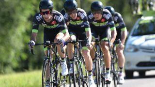 NY SPONSOR INN: Vital Concept har bestemt seg for ikke å bli med inn i årets Tour de France. Det Bretagne-baserte laget har tidligere hatt Vegard Breen (nummer tre på bildet) og Vegard Stake Laengen i stallen. FOTO: Tim De Waele/TDWSPORT.COM