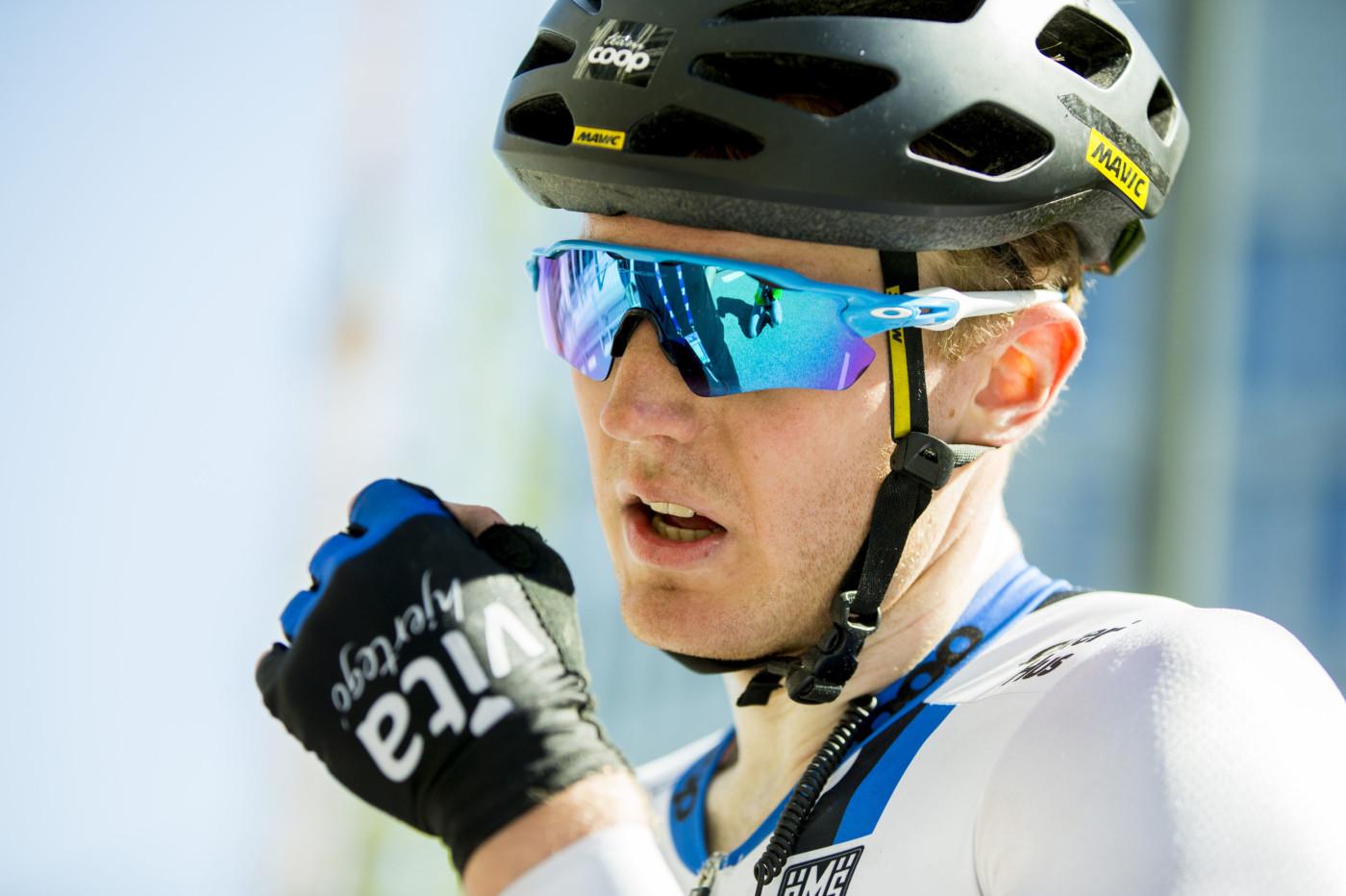 NY PROFF: Team Coop-syklisten August Jensen har fått kontraktstilbud fra flere profflag. Foto: Vegard Wivestad Grøtt / NTB scanpix