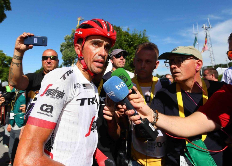 IKKE SLÅTT: Contador kan bli en joker i årets tour. FOTO: Tim de Waele.