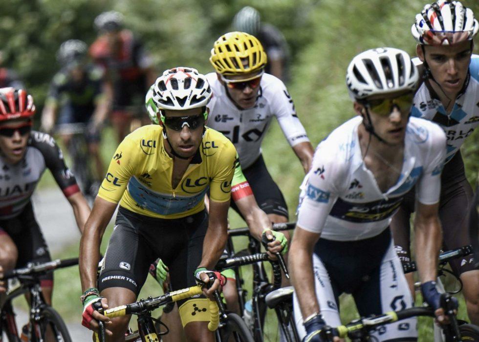 FABIO ARU: Leder Tour de France etter 13 etapper. Foto: NTB Scanpix.