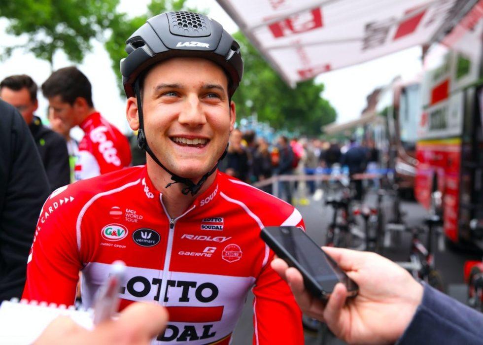TIM WELLENS: Før årets Tour de France startet i den tyske byen Düsseldorf. Foto: Tim de Waele.