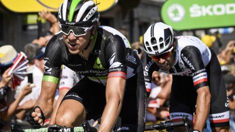 KOMMER SEIEREN? Edvald Boasson Hagen er favoritt på den 19.etappen i årets Tour de France. AFP PHOTO / Lionel BONAVENTURE
