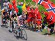 TIL NORGE? Pierre Rolland leder an Romain Bardet på en fjelletappe i Tour de France i 2013. Om noen år kan rittet starte i Norge. Foto: Tim De Waele /TDWSport.com.