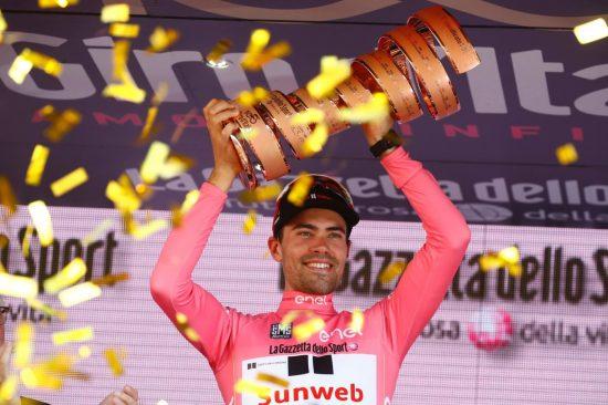 GIRO: Tom Dumoulin vant årets utgave av Giro d'Italia