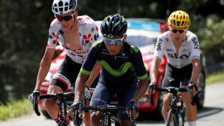 På vei bort? Quintana har både kontrakt i Movistar og pengesterke beilere. REUTERS/Benoit Tessier