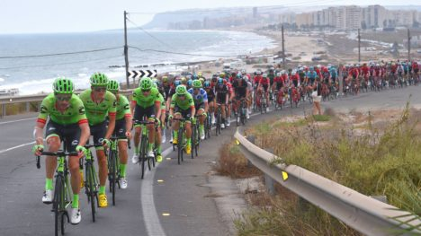 CANNONDALE-DRAPAC: Her i aksjon under Vuelta a España denne uken. FOTO: Tim de Waele (TDWSport.com)