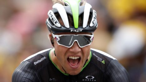 RETURN OF THE BEAST: Da Edvald Boasson Hagen tok sin første etappeseier i Tour de France siden 2010