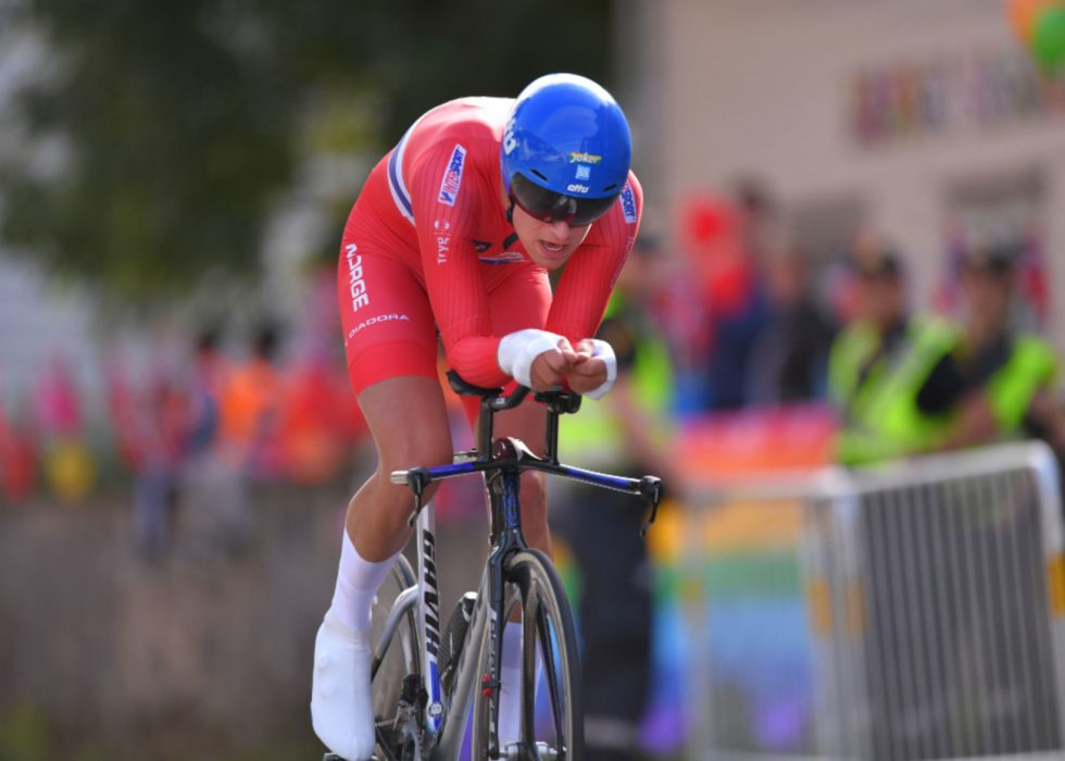 LØYPETABBE: Det ble forvirring under Iver Johan Knottens VM-tempo. FOTO: Tim de Waele (TDWSport.com)