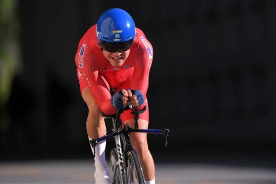 BESTE NORDMANN: Tobias Foss ble den beste norske rytteren på U23-herrenes tempo. FOTO: Tim de Waele (TDWSport.com)