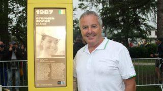 DRØMMEÅRET 1987: Stephen Roche var tilsynelatende ustoppelig i 1987. Men desto svak året etter. FOTO: procycling.no