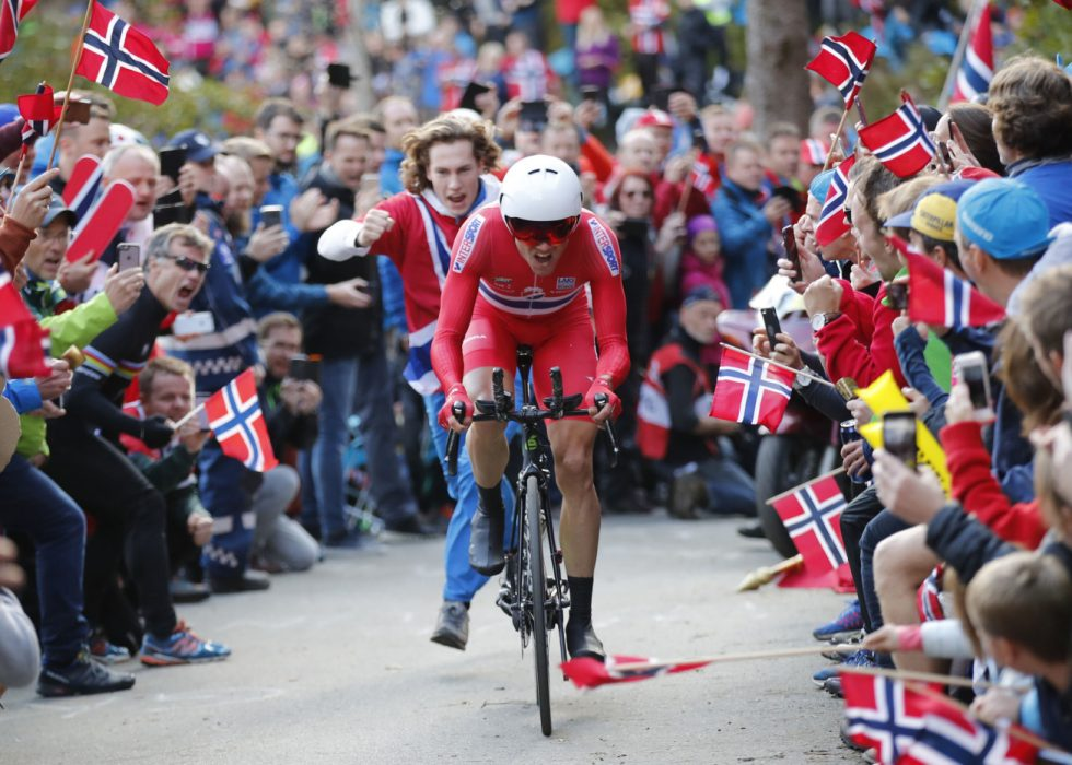 FOLKEFEST: Sykkel-VM i Bergen er en kjempesuksess