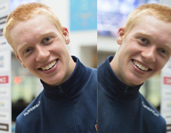 LIVLIG: Andreas Leknessund er blant Norges fremste håp på VM-fellesstarten for juniorer. .