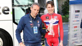 BEVISET: Norge har vært verdens beste nasjon i juniorklassen denne sesongen. Derfor deppet heller ikke Kai Lexberg og Søren Wærenskjold for mye over ny 8.-plass på VM-fellesstarten. FOTO: Knut Andreas Lone