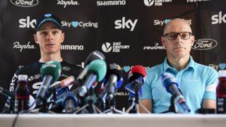 STORE NYHETER I VENTE? Verken Team Sky eller RCS Sport har foreløpig bekreftet at Chris Froome skal sykle Giro d'Italia neste år