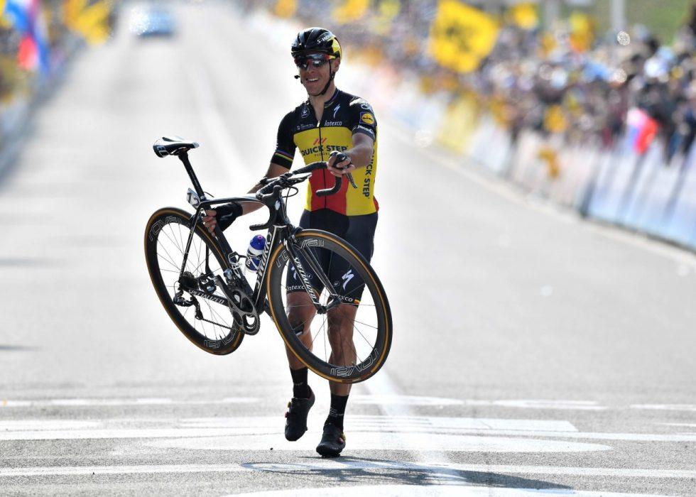 """GIKK OVER MÅL: Philippe Gilbert ønsker å vinne """"de fem store"""" i løpet av sykkelkarrieren. Det har kun tre ryttere klart før ham"""