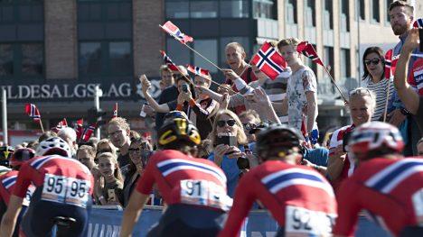 GIGANTSMELL: Ifølge Bergens er underskuddet etter Sykkel-VM på svimlende 55 millioner kroner.