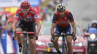 FØLER SEG SNYTT: Vincenzo Nibali kan rykke opp som vinner av Vuelta a España etter at Chris Froome testet positivt for salbutamol. Foto: AFP PHOTO / JOSE JORDAN