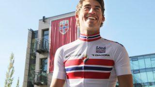 KLAR FOR EN OPPTUR: Sondre Holst Enger åpner sesongen på Mallorca i dag. Utover året håper han å sykle seg inn i diskusjonen foran både Milano-Sanremo og Giro d'Italia. Foto: Terje Alstad / NTB scanpix