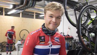KVALITETSSIKRING: Tour de l'Avenir er viktig for Tobias Foss denne sesongen. For å komme dit må Norge stille til start i NationsCupen