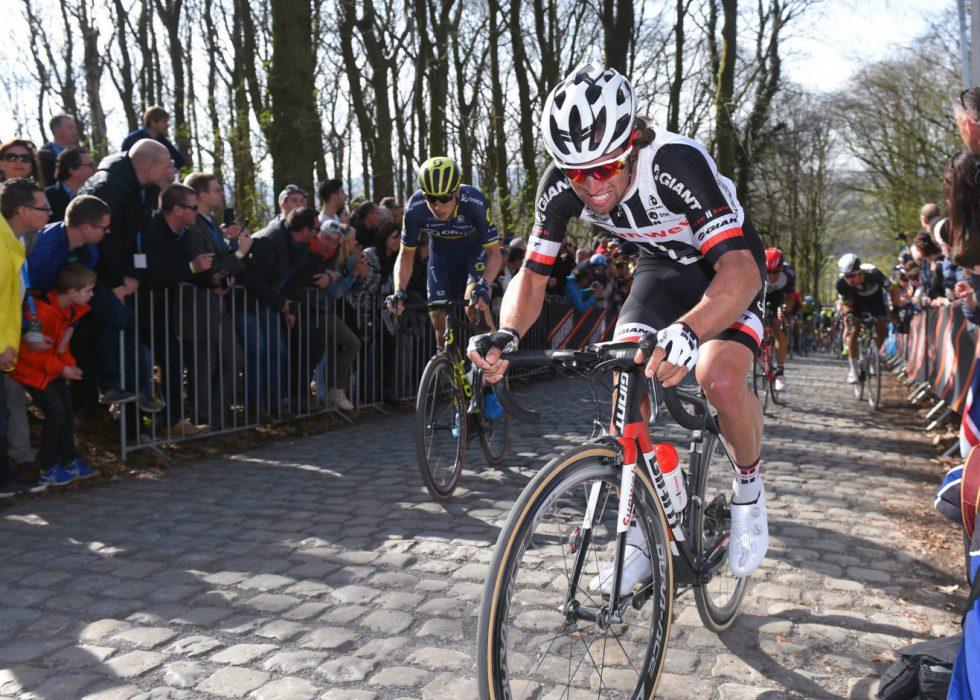 INTENSIVERER SATSING: Michael Matthews ble nummer åtte under fjorårets Gent-Wevelgem. Nå utvider han satsingen med opptredener i Omloop Het Nieuwsblad og E3 i Harelbeke. FOTO: Tim De Waele/TDWSPORT.COM