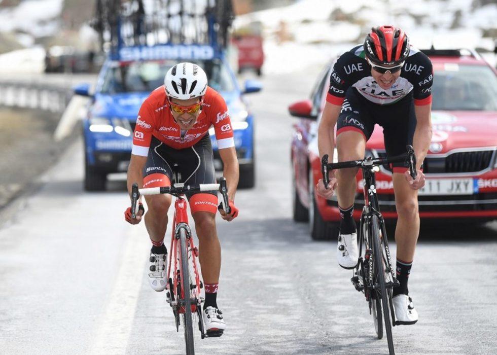NESTEN: Vegard Stake Laengen imponerte stort på den femte etappen av Volta a Catalunya. Foto: Tim De Waele.
