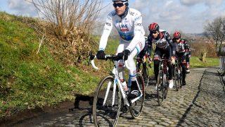 GRUNDIGE FORBEREDELSER: Alexander Kristoff hadde ikke helt gjort hjemmeleksa foran Dwars door Vlaanderen
