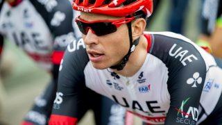 VISTE SEG FRAM: Vegard Stake Laengen skal til Giro d'Italia og viste fram hvorfor under den fjerde etappen av Tour of The Alps. Foto: Vegard Wivestad Grøtt / NTB scanpix