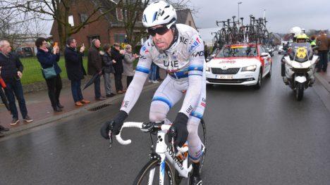 KLARTE IKKE Å FØLGE: Alexander Kristoff måtte slippe på Oude Kwaremont og da var slaget tapt. FOTO: Tim de Waele (TDWSport.com)