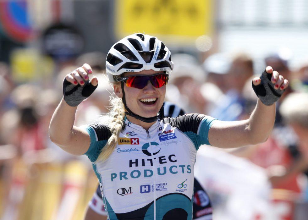 ET HØYDEPUNKT: Miriam Bjørnsrud syklet inn til NM-tittel på Lillehammer i 2015