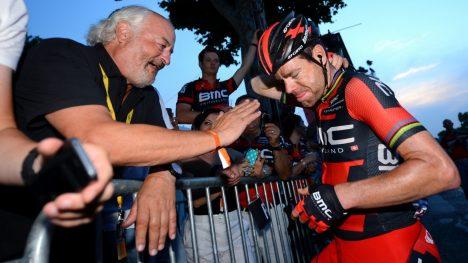 DET STORE KUPPET: Andy Rihs hentet Cadel Evans foran 2010-sesongen og fikk Tour de France-tittelen i retur året etter. FOTO: Tim De Waele/TDWSPORT.COM