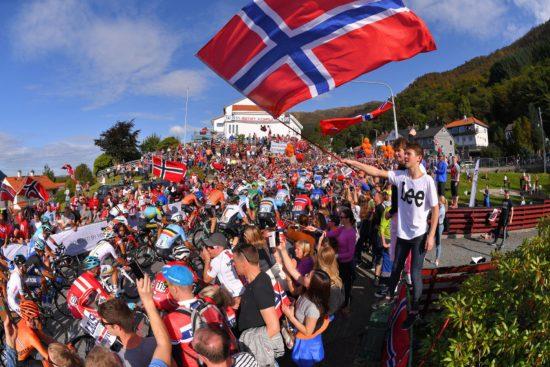 FOLKEFEST: VM i Bergen ble en eneste stor fest