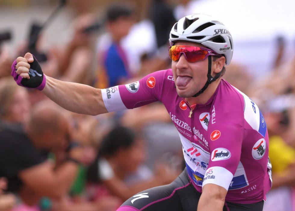 TILBAKE PÅ TOPPEN: Elia Viviani tok sin tredje etappeseier i årets Giro d'Italia. FOTO: Tim de Waele/Getty Images