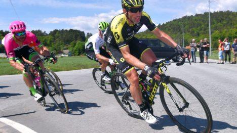 KRITISK BIDRAG: Michael Albasini var essensiell da Mitchelton-Scott vant Hammer Climb