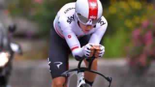 RASKEST: Michal Kwiatkowski tok første stikk i Critérium du Dauphiné søndag. FOTO: Tim de Waele/Getty Images