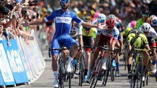 CATCH ME IF YOU CAN: Tour of California ga hittil den tydeligste indikasjonen på styrkeforholdet mellom Tour de France-spurterne. Her var 23 år gamle Fernando Gaviria i en egen klasse. FOTO: Getty Images/Tim De Waele