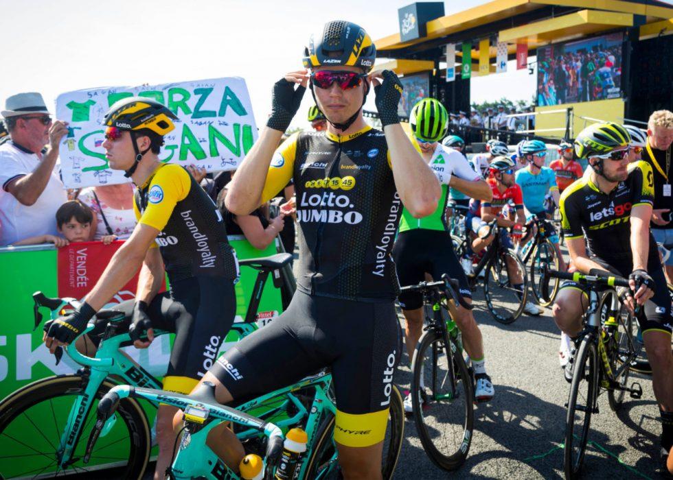 IKKE FÅTT VIST FRAM HVA DE KAN: Men Tour de France-oppkjøringen til Amund Grøndahl Jansen og Dylan Groenewegen har vært forbilledlig. FOTO: Heiko Junge